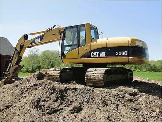卡特挖机320C_卡特320c挖掘机